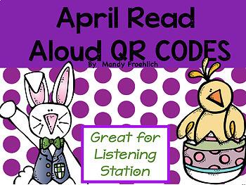 QR CODES for Read Alouds BUNDLE