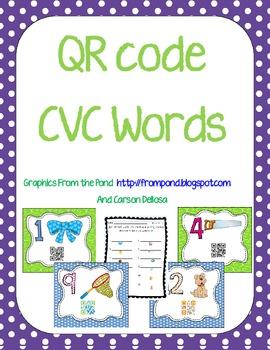 QR CVC Words