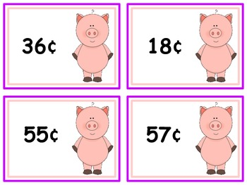 QR Money ~ Little Piggy's Pocket Full of Coins