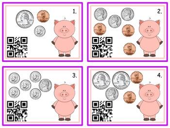 QR Money ~ Little Piggy's Pocket Full of Coins