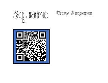 QR Code 2D Shape Book