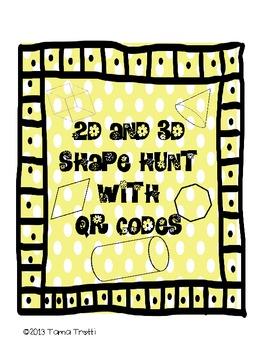 QR Code 2D/3D Shape Hunt
