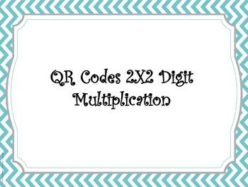 QR Code 2X2 Digit Multiplication