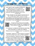 QR Code 3rd Grade Comprehension Passages Set C (#21-30)