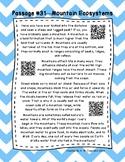 QR Code 3rd Grade Comprehension Passages Set D (#31-40)