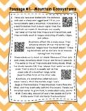 QR Code 4th Grade Comprehension  Passages FREEBIE