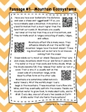 QR Code 4th Grade Comprehension Passages Set A (#1-10)