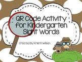 QR Code Activity for Kindergarten Sight Words