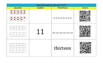 QR Code Activity for PK-1