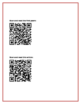 QR Code Activity for Practicing Author's Purpose - Great Test Prep