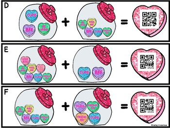 QR Code Add The Room -Candy Hearts