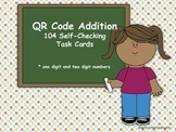 QR Code Addition (104 self-checking addition task cards us