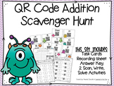 QR Code Addition Scavenger Hunt