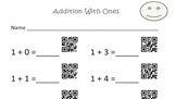 QR Code Addition Sheets