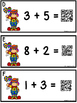 QR Code Addition Sums To 10 - Circus