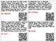 QR Code Addition Word Problems