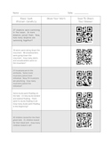 QR Code Addition Word Problems Worksheet