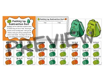 QR Code Addition and Subtraction Centers