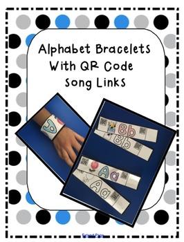 QR Code Alphabet Bracelets