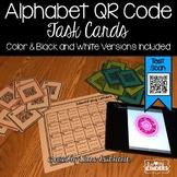 QR Code Alphabet Letter & Sound Task Cards