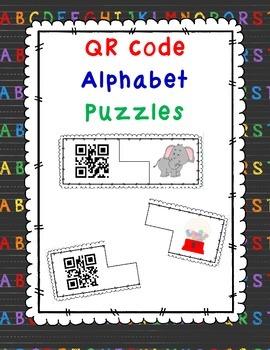 QR Code Alphabet Puzzles