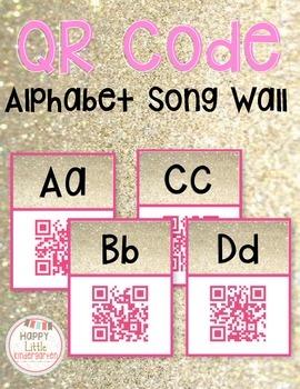 QR Code Alphabet Song Cards - Using Technology in Kindergarten