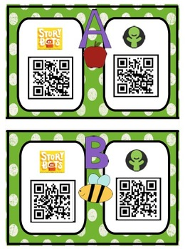 QR Code Alphabet Songs Stations