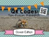 QR Code Animal Research: Ocean Edition