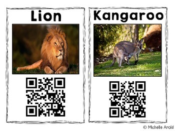 QR Code Animal Research: Zoo Edition