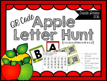 QR Code Apple Letter Hunt