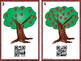 QR Code Apple Tree -Count, Write, Scan