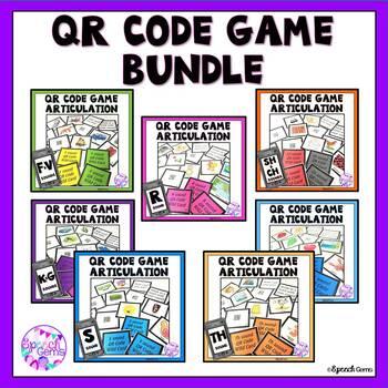 QR Code Articulation Game BUNDLE