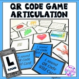 QR Code Articulation L Sound Game
