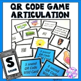 Articulation Game S sounds and S blends QR Code