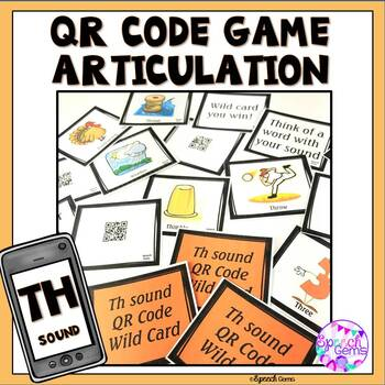 QR Code Articulation Game Th sounds