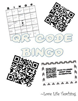 QR Code BINGO - Get to know your classmates