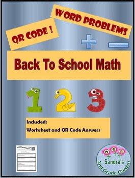 QR Code Back to School Math
