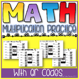 Multiplication Practices w/ QR Codes