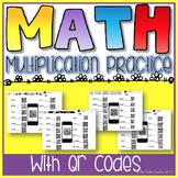 Multiplication Practices w/ QR Codes