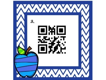 QR Code Basic Sight Word Read the Room Literacy Station