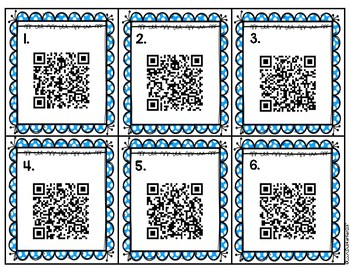 QR Code Beginning Digraph Activity