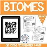 QR Code Biomes Scavenger Hunt