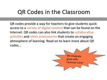 Common Core iPad App-tivities: QR Code Cubes for 2nd-6th Grade ELA