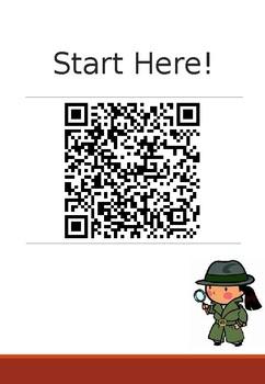 QR Code Book Hunt