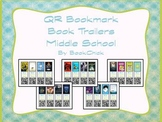 Middle School QR Code Bookmark Book Trailers Set #1