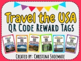 QR Code Brag Tags-Travel the USA Edition