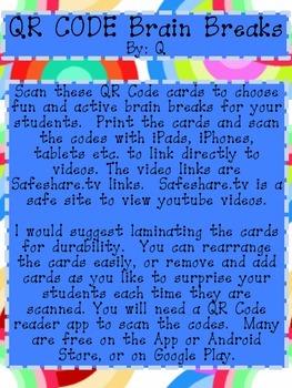 QR Code Brain Breaks by Q