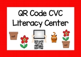 QR Code CVC Literacy Center Game