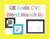 QR Code CVC Word Match Up