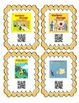QR Code Cards for 28 different Curious George Stories. Great Literacy Center.
